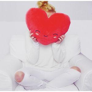 Beheizbares Herz-Kissen