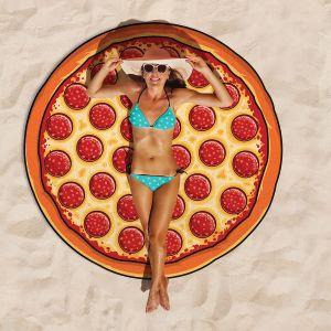 Pizza Strandtuch