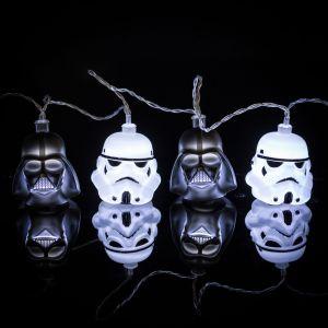 star wars darth vader stormtrooper lichterkette - Star Wars Todesstern Lampe