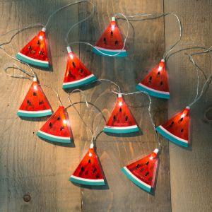 Wassermelonen-Lichterkette