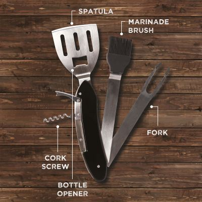 Küche & Grill - 5 in 1 Grillbesteck
