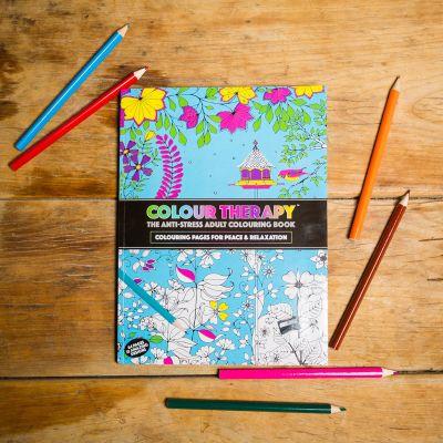 Sale - Malbuch Farb-Therapie gegen Stress