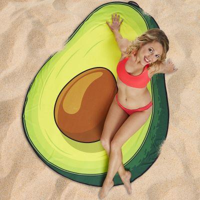 Badezimmer - Avocado Strandtuch