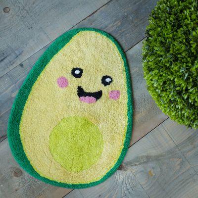 Geschenke für Frauen - Happy Avocado Badezimmerteppich