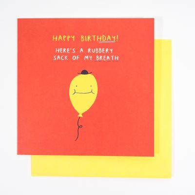 Karten - Geburtstagskarte Balloon