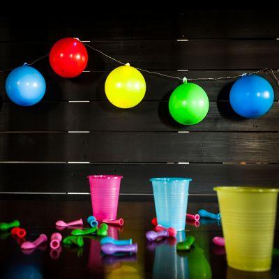 Küche & Grill - Ballon Lichterkette