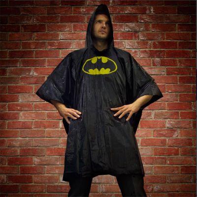 Fasching & Karneval - Batman Regenponcho