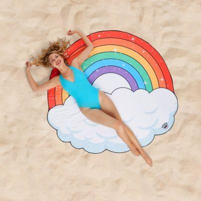 Sommer - Regenbogen Strandtuch