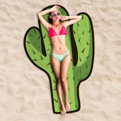 Badezimmer - Kaktus Strandtuch