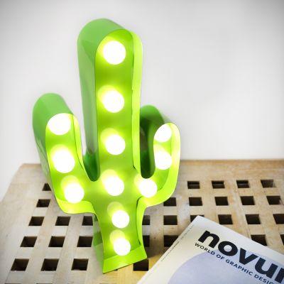 Deko - Kaktus LED Leuchte