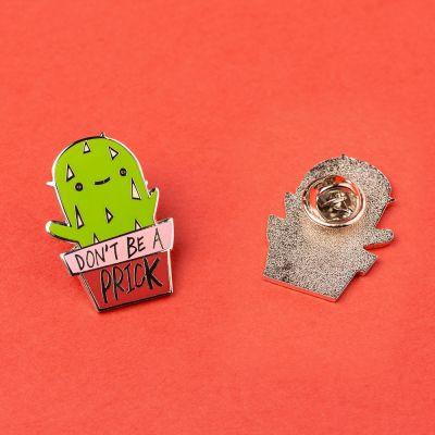 Kleidung & Accessoires - Kaktus Anstecknadel