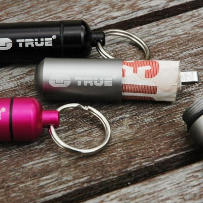 Reise Gadgets - Cash Stash - Geldversteck Schlüsselanhänger