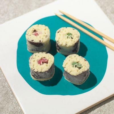 Ostergeschenke - Schokoladen Sushi