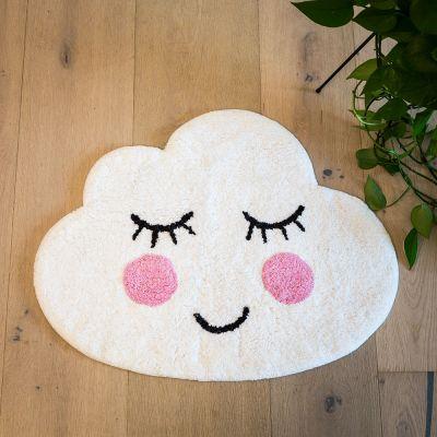 Geschenkefinder - Wolken Badezimmerteppich