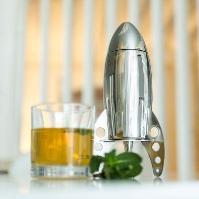 Geburtstagsgeschenk für Freundin - Cocktail Shaker Rakete