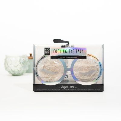 Badezimmer - Kühlende Augenpads