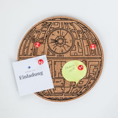 Deko - Star Wars Todesstern Pinboard
