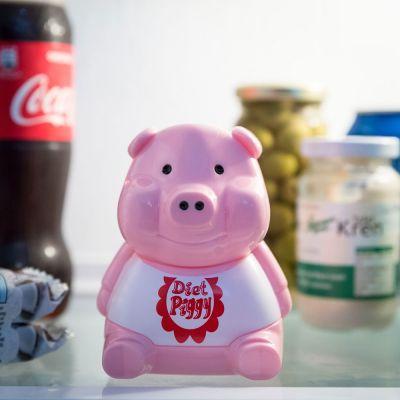 Geschenk für Freund - Kühlschrank Diät Schweinchen