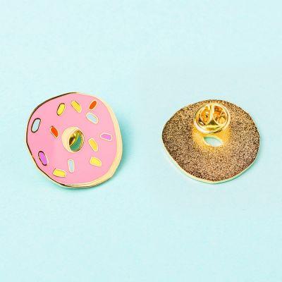 Kleidung & Accessoires - Donut Anstecknadel