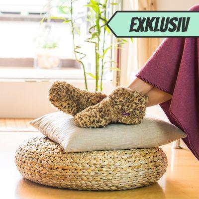 Homewear - Erwärmbare Kuschel-Boots