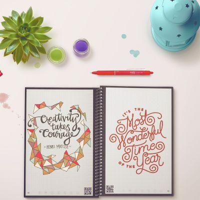 Spaß im Büro - Wiederverwendbares Notizbuch Everlast mit Smartphone App
