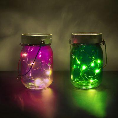 Valentinstag Geschenke - Fairy Jars 2er-Set