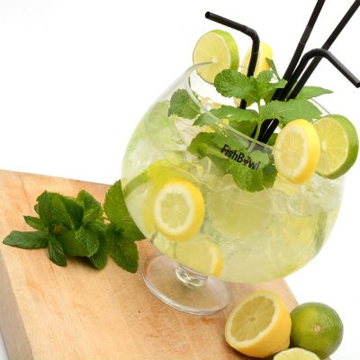 Sommer - Fishbowl Glas Party-Set