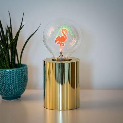 Deko - Flamingo Glühbirne