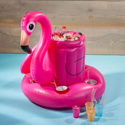 Geschenk zum Abschluss - Aufblasbare Flamingo Bar