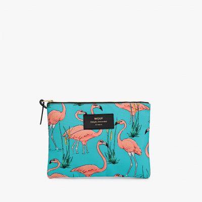 Neu bei uns - Eleganter Flamingo Beutel