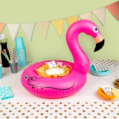 Strand & Wasser - Aufblasbare Mini Snack-Bar Flamingo