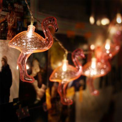 Romantische Geschenke - Flamingo Lichterkette