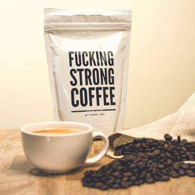 Geschenke für Papa - F*cking Strong Coffee: Verdammt starker Kaffee