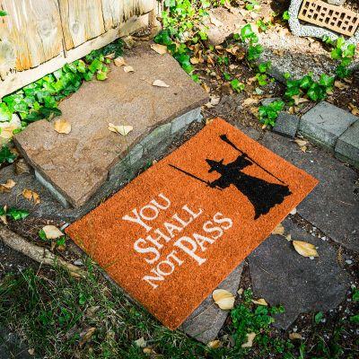 Geschenk für Paare - Fußmatte You Shall Not Pass