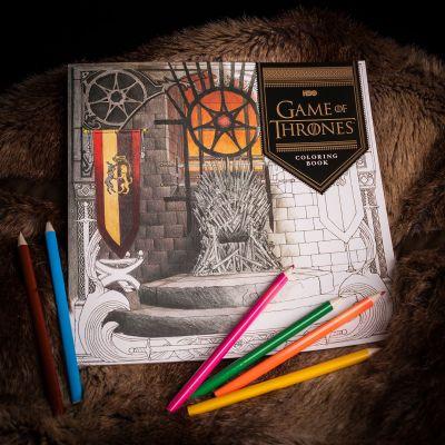 Film & Serien - Game Of Thrones Malbuch