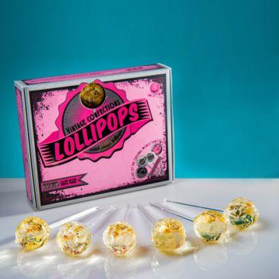 Romantische Geschenke - Goldene Lollipops