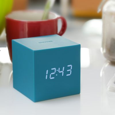 Uhren - Gravity Cube Click Clock