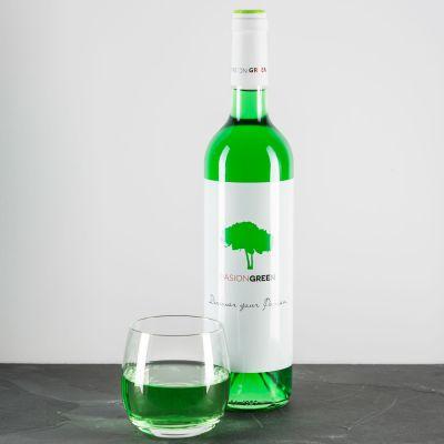 Weihnachtsgeschenke für Eltern - Wein in Grün