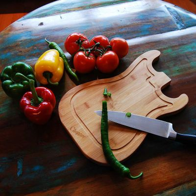 Küche & Grill - Gitarren Schneidebrett