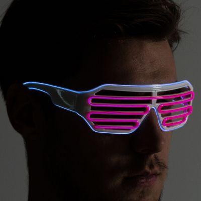 Halloween - Brille mit farbigen LEDs