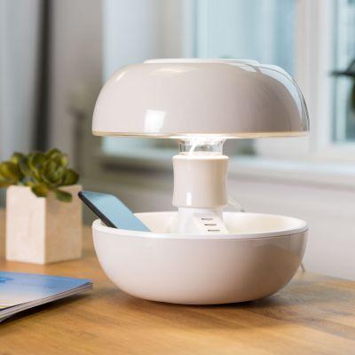 Geschenke für Frauen - JOYO Tischleuchte mit Bluetooth und USB