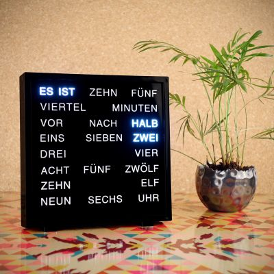 Geschenkefinder - LED Word Clocks