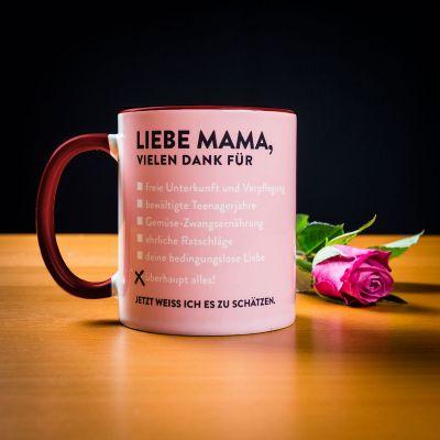 Sale - Liebe Mama Tasse
