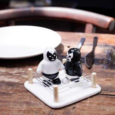Küche & Grill - Luchador Salz- und Pfefferstreuer
