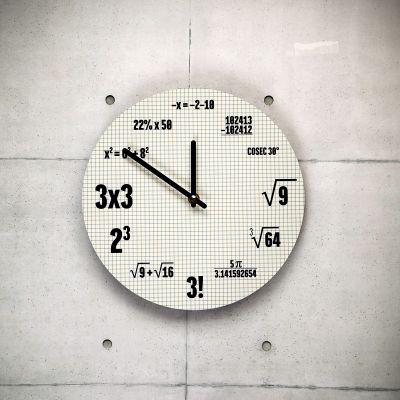 Uhren - Mathematik Uhr