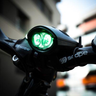 Fitness & Sport - Mini Hornit Fahrradlicht mit Sound