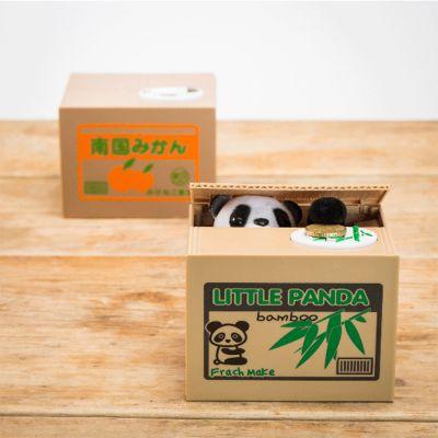 Nikolausgeschenke - Panda Sparbüchse