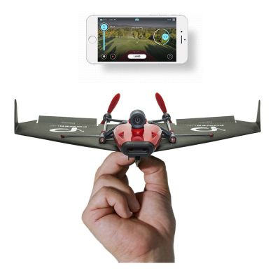 Gadgets - PowerUp FPV Papierflieger-Drohne mit VR Headset