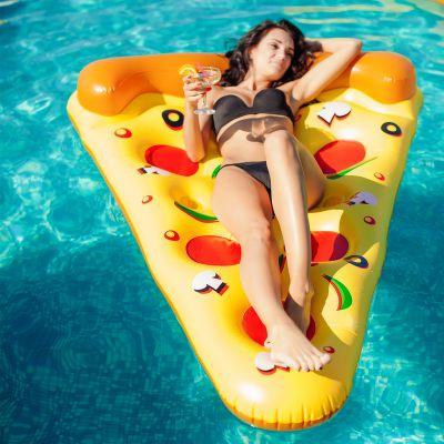 Strand & Wasser - Pizza Luftmatratze