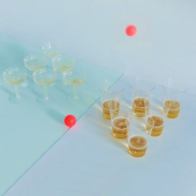Küche & Grill - Prosecco und Bier Pong Wars